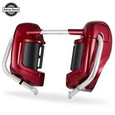 AdvanBlack Lower Vented Fairings For Harley Street Electra Glide FLHR 1986-2013