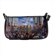 The Wedding At Cana Paolo Veronese Mini Coin Purse & Shoulder Clutch bag