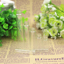 10PCS Mini 5ml Glass Refillable Perfume Empty Bottle Atomizer Pump Spray US9