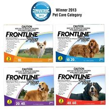 FRONTLINE PLUS for Dogs - Flea & Tick Treatment 3-Month Pack