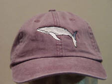 HUMPBACK WHALE WILDLIFE HAT LADIES MEN BASEBALL CAP - Price Embroidery Apparel