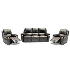 NEW Mila 3 Seater Motion Sofa and 2 Recliner Chair Set