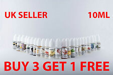 HIGHLY CONCENTRATED LIQUID FOOD FLAVOURING 30+ FLAVOURS 10ML BUY 3 GET 1 FREE