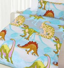 Happy Kids Bedding Sets NEW Dinosaur Glow in the Dark Quilt Cover Set