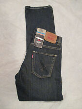 Levis Jean New Boy 511 Skinny Fit Sits below Waist Color Dark Denim 428250008
