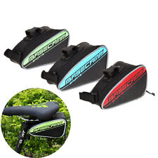 Outdoor Bike Bicycle Cycling Saddle Bag Rear Seat Tail Pouch Storage Waterproof