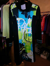 NWT ($345) Aventures des Toiles Artistic Dress made in France (sz 40 and 42)