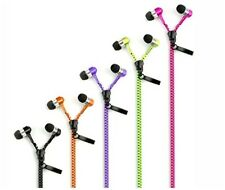 Tangle Free Zipper Earphones