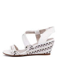 New Gamins Cruise White/Metallics Women Shoes Casuals Sandals Wedges