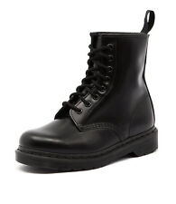 Dr. Martens 1460 Mono Boot Black Smooth Women Shoes Casuals Boots Ankle Boots