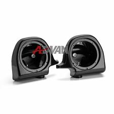 "6.5"" Speaker Pods Boxes Lower Vented Fairings for Harley Touring FLHT FLHX FLTR"