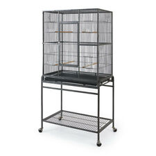 Bono Fido Bird Cages NEW Deluxe Bird Flight Cage with Stand