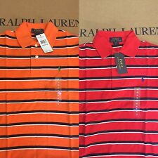 New POLO RALPH LAUREN Boys Shirt Size-Medium, Large Color: Red Orange MSRP 39.50
