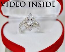 QCJW*Marquise Cut Engagement & Wedding Engagement Rings Diamond Ring 22KT