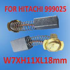 Carbon Brushes For Hitachi 999025 7X11X18mm PR38 PHU-45 H-45SA PH-55A PH-40F