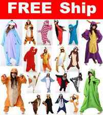 New Hot Adult Unisex Kigurumi Pajamas Animal Cosplay Costume Onesie Sleepwear &&