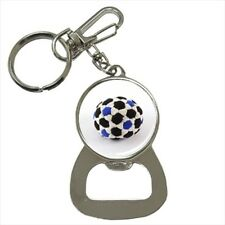 Footbag Bottle Opener Keychain and Beer Drink Coaster Set