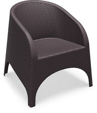 Furnlink Outdoor Chairs NEW Aruba Resin Rattan Tub Chair