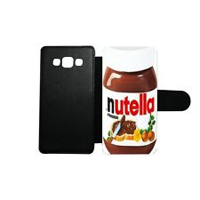 Etui housse portefeuille Ferrero Nutella swag Samsung Galaxy A5 2015