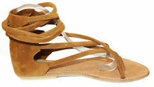 Women shoes sandal summer suede comfort fashion casual Antropez Us size 3 to 12
