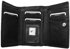 Visconti HT32 Genuine Leather Tri-fold Wallet Purse Ladies Girls ID Card Gift Bx