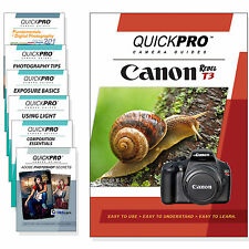 QuickPro Camera Training DVD For Canon T3 Instructional Video Guide SLR NEW