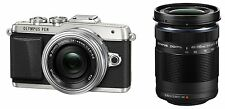 OLYMPUS PEN E-PL7 EZ Double Zoom Kit Mirrorless SLR ED 14-42mm + ED 40-150mm EMS