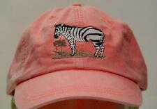 ZEBRA WILDLIFE HAT - LADIES MEN SOLID COLOR BASEBALL CAP - Price Embroidery