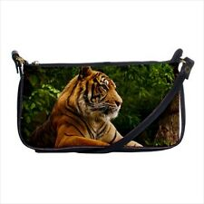 Bengal Tiger Shoulder Clutch Handbag & Mini Coin Purse