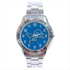Detroit Lions Stainless Steel Watches - NFL Football