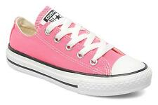 Converse Chuck Taylor Pink White Youth Boy Girl Ox Kids Shoes Size 10.5 - 3