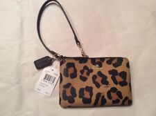Coach Ocelot print Wristlet - NEW WITH TAG