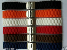 18mm 20mm 22mm 24mm SPORT DIVER Watch rubber Band Silicone Strap.bracelet&Buckle