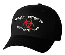 Zombie Outbreak Response Team Undead Walking Dead Embroidered Hat 3 Colors