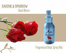 ROSE BLOOM Fragranced Body Spray Mist CHOOSE 50ml | 100ml | 250ml