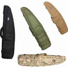 "39"" 1M Hunting Tactical Rifle Case Gun Storage Carry Bag Sponge Lining 4 Colors"