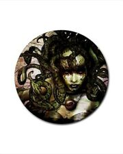 Medusa Bottle Opener Keychain and Beer Drink Coaster Set
