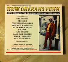 Various - New Orleans Funk (2006, CD New Not Sealed) Soul Jazz Free P&P