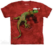 Peace on Earth Gecko Kids T-Shirt from The Mountain. Reptile Hat Child Sizes NEW