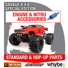 HPI SAVAGE X 4.6 SPECIAL EDITION [All Engine Parts] Genuine HPi Racing R/C Parts
