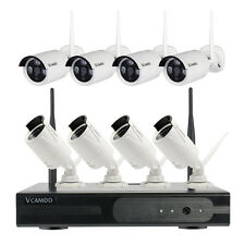 Outdoor CCTV Wireless Security Camera System Kit Home Surveillance Hard Drive