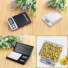 Mini Electronic Digital Pocket Scale Balance Weight Jewelry Gold Postal Kitchen