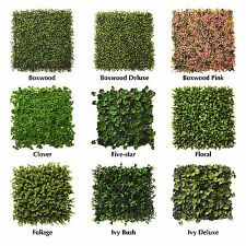 Artificial Hedge Premium Plastic Instant Garden Hedging Cover Screen Fence Wall