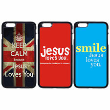 KEEP CALM Jesus Loves You Christian For Apple iPhone iPod & Samsung Galaxy Case