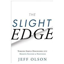 The Slight Edge by Jeff Olson (2013, Hardcover)