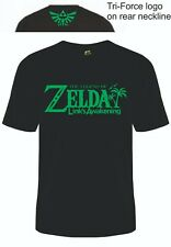 Zelda Breath of the Wild T-Shirt or Gym Vest Gaming Tee Legend of Link Ocarina