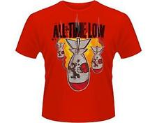 OFFICIAL LICENSED - ALL TIME LOW - DA BOMB T SHIRT PUNK POP