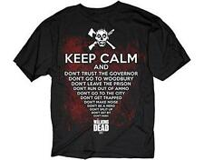 OFFICIAL LICENSED - WALKING DEAD - KEEP CALM T SHIRT ZOMBIE