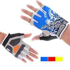 2016 New Professional Cycling Bike Bicycle Shockproof Sports Half Finger Glove
