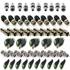 NEW 10x CAT5 To Coaxial Camera CCTV TV Video Balun bnc Cable Connector Adapter